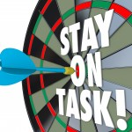 choose a task and focus on it completely